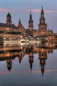 Towers of Dresden Germany