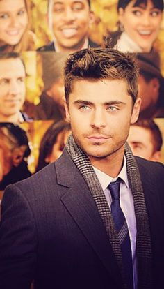 Zac Efron - never thought I would said this but damn he's looking fine