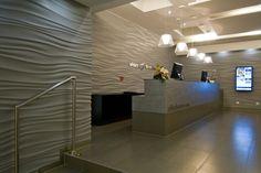 """Jet Stream"" Design in Hotel reception."