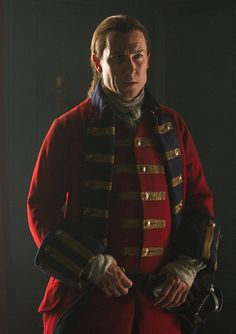 Tobias Menzies as Black Jack Randall.  God, I wish someone would just kill this bastard and get it over with.
