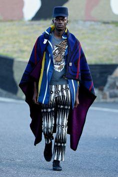 Chulaap unveils his eclectic Afro-zen AW16 collection #MakeArtNotWar