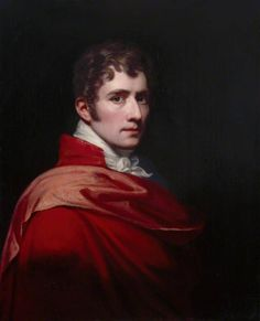 Self Portrait, 1805 by Samuel Woodforde (British 1763–1817).....the artist presenting himself in the grand manner, akin to a Roman Emperor, aristocrat, or some such.....