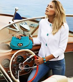 Luisa Spagnoli campagna Navy style