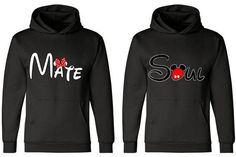Matching Couples Hoodies Disney Soul Mate Two Hoodies for 49.99 Add ...