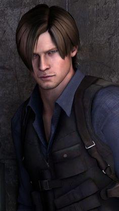 Leon Resident Evil, Resident Evil Anime, Leon S Kennedy, Jill Valentine, Evil Pictures, Horror Video Games, Game Character, Gorgeous Men, Memes