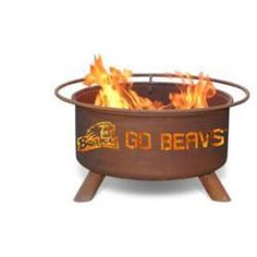 Oregon State Beavers Hand Crafted Steel Fire Pit