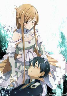 Anime Cupples, Otaku Anime, Anime Comics, Sword Art Online Poster, Sword Art Online Wallpaper, Sword Art Online Hollow, Sword Art Online Kirito, Kunst Online, Online Art