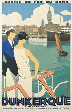 T23 Vintage 1930/'s French Paris France Travel Poster Re-Print A4