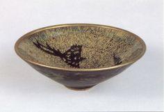 Чайная чаша с изображением феникса на глазури черепаховый панцирь