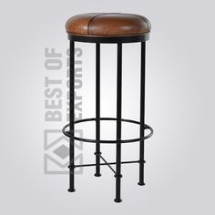 Product Details: Product Code: BE-I-BS-018 Material: MS steel & Upholstery Dimension: 47 L x 47 W x 98 H cms C.B.M: 0.23