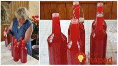 Nevarený sirup z červených ríbezlí: Žiada chémia, éčka a netreba ho ani sterilizovať! Hot Sauce Bottles, Syrup