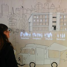 Interactive animations at Retail Design Expo - Dalziel & Pow Exposition Interactive, Interactive Exhibition, Interactive Walls, Interactive Installation, Exhibition Space, Interaktives Design, Display Design, Store Design, Sketch Design