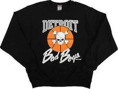 Detroit Bad Boys Crew neck sweatshirt in stock now @ DonnaSacs.Com