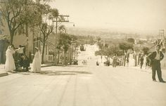 1960 - Rua Girassol na Vila Madalena.