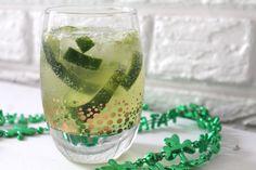 Cucumber Jalapeno Cooler for St. Patricks Day!
