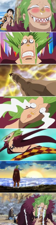 Bartolomeo - I hope we see lots more of him! I grinned ever time he appeared XD