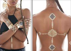Beyoncé introduces line of flash tattoos | via CR Fashion Book