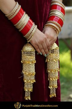 Punjabi Bridal Chura - New Design Bridal Chura Best Price Online Bridal Bangles, Bridal Jewelry, Gold Jewellery, Silver Jewelry, Quartz Jewelry, Silver Ring, Indian Wedding Jewelry, Indian Bridal, Indian Jewelry