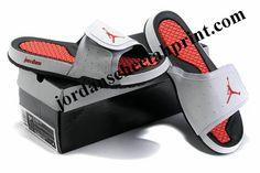 a62f3249dbac Cheap Air Jordans 2 Massage Slippers White Fire Red