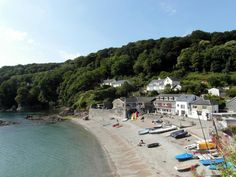 Cawsand village, Cornwall