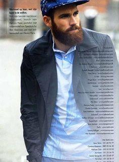 Sebastiaan beard model