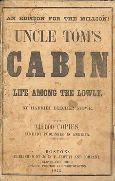 In this novel, students will explore some of the rhetoric Used by slave owners to dehumanize slaves and the language Stowe uses to humanize them.