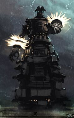 Shadow of the Colossus: ArtStation - Colossus 16 - Malus_by Daniel-Aubert Geek Art, Video Game Art, Community Art, Best Games, Gamer 4 Life, Fantasy Art, Cool Art, Concept Art, Creatures