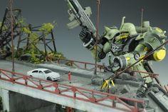 Geara Doga - Diorama Build