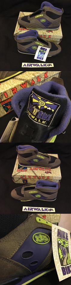 53990556bb8973 Childrens Vintage Shoes 182034  Nos Vintage Airwalk Hike N Bike Purple Size  12 Men S Skateboard Bmx Shoes -  BUY IT NOW ONLY   175 on eBay!