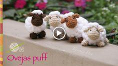 Hola que tal a todas, hoy les traemos un Video Tutorial sobre como hacer unas HermosasOvejas Puff Tejidas al Crochet...