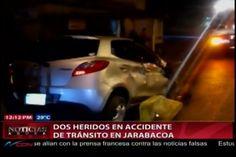 Dos Heridos En Accidente De Tránsito En Jarabacoa