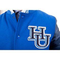 Hampton University Rivalry L/S Varsity Jacket Hampton University, Dom, The Hamptons, Jackets, Fashion, Down Jackets, Moda, Fashion Styles, Fashion Illustrations