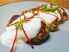 Cukkini tócsni 😎 Mashed Potatoes, Barbie, Eggs, Breakfast, Ethnic Recipes, Food, Whipped Potatoes, Breakfast Cafe, Egg