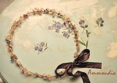Fairytale wedding wreaths  wedding crown  orthodox by AMMOUDIA, $120.00