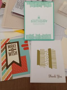 Stampin' Up! Cards by Mandy Reedyk - kidscollage