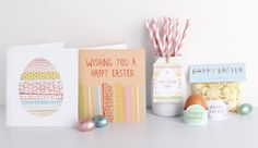 easter party cards