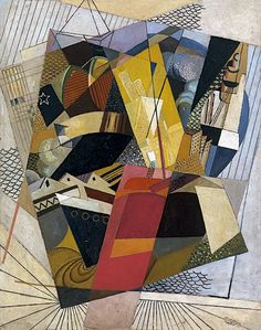Albert Gleizes - In Port 1917