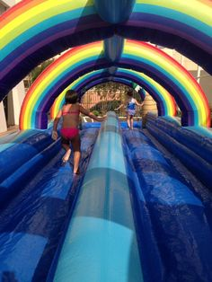Water Park Rides, Inflatable Water Park, Bouncy House, Diy Headband, Getting Old, Beauty Makeup, Fair Grounds, Backyard, Future