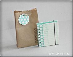 Libreta de notas lista para regalar!! Notebook, The Notebook, Exercise Book, Scrapbooking