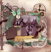 Project Ideas for Graphic 45 - Times Nouveau Collection - 12x12 Double Sided Paper - Hip to the Jive, gf-450007