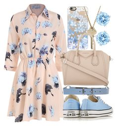 """School Again..."" by samirogers1104 ❤ liked on Polyvore featuring Converse, Jil Sander Navy, Casetify, The Giving Keys, Givenchy and Swarovski"