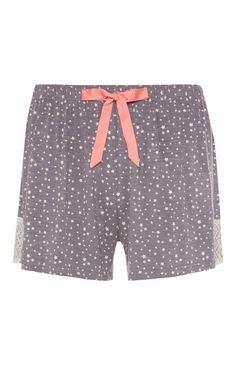 Grey Short Star