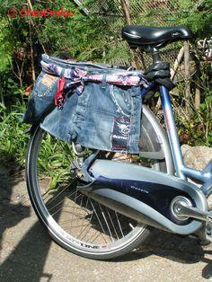 Een vaste tas op mijn fiets!