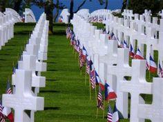 Cimetière Militaire Américain - COLLEVILLE SUR MER - musées du débarquement et bataille de Normandie, maison de la libération, cimetière militaire américain - Office de tourisme d'Omaha Beach