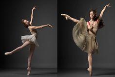 Newest NY City Ballet Principals, Rebecca Krohn (L) and Ana Sophia Scheller.   beautiful