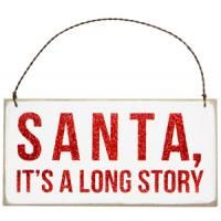 Santa always trying to be fair so it doesn't cry. Just know its pity! We ALL KNOW THE TRUTH