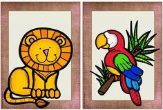 "Englisch in der Grundschule: Flashcards ""Zoo animals"" English Lessons, Learn English, Zoo Animals, Wild Animals, Teaching English, English Kindergarten, Baby Learning, Animal 2, Woodland Party"