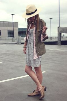 This whole outfit is so cute-- and you could actually wear the shoes-imagine that!