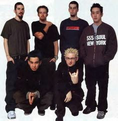 Linkin Park old school they all look so cute