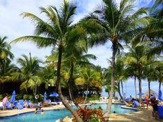 Great beachfront pool at Cheeca Lodge